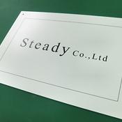 スタンダード表札看板(Steady様)