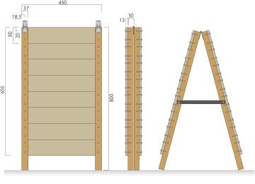 手作り木製A