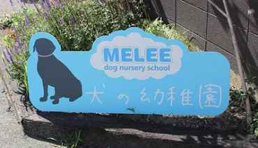 形状カットパネル看板(MEELEE様)p-018113