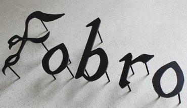 ステンレス切文字(Fobro様)