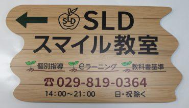 形状カットパネル看板 (SLD スマイル教室様)